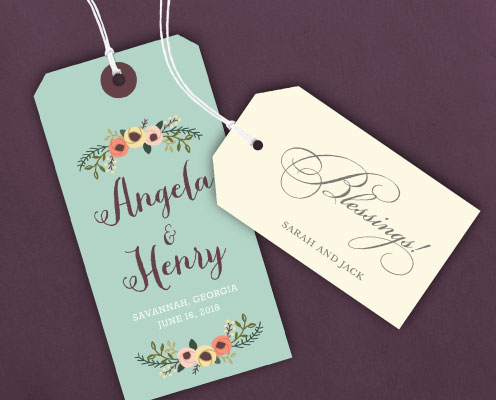 Stringed Gift Tags